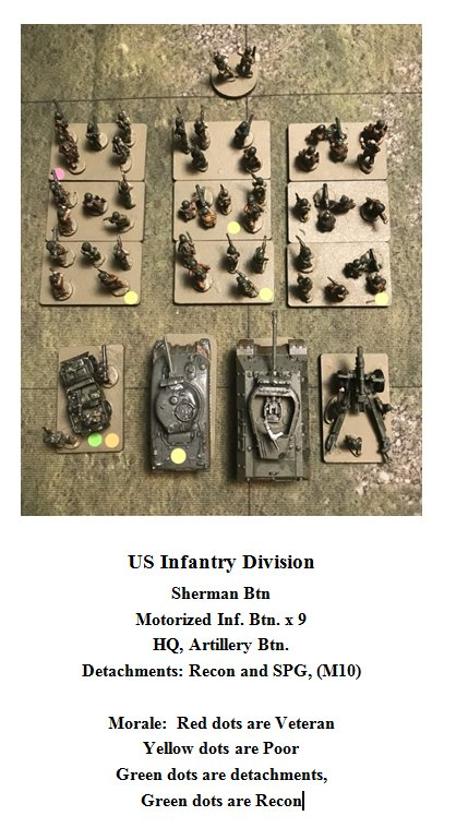 US Infantry division