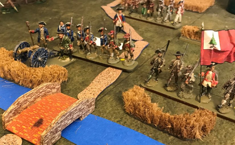 Battle of Brandywine Creek – 40mm AWI Game