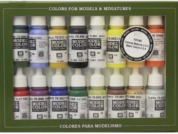 Vallejo Basic Color Set