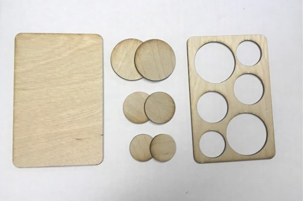 3-2-1 Wooden Bases